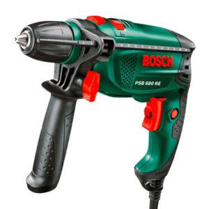 Купить дрель ударную Bosch PSB 680 RE