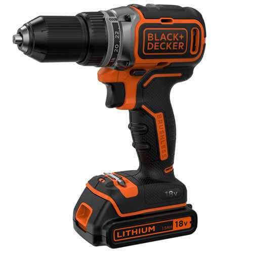Купить аккумуляторный шуруповерт Black&Decker BL186KB