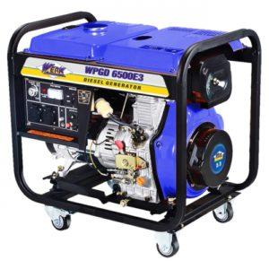 Купить дизельный генератор Werk WPGD6500E